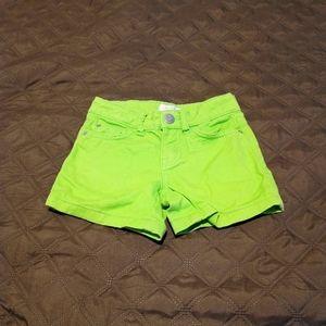 Little miss Summer Shorts Gently Worn size 6